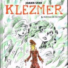 Cómics: KLEZMER,VOL.5.SFAR.NORMA EDITORIAL.. Lote 120668615