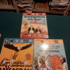 Cómics: MASSAGRAN - LOTE DE 3 COMICS EN CATALÀ - JOSEP M. FOLCH I TORRES - R. FOLCH I CAMARASA - VER FOTOS. Lote 120673055
