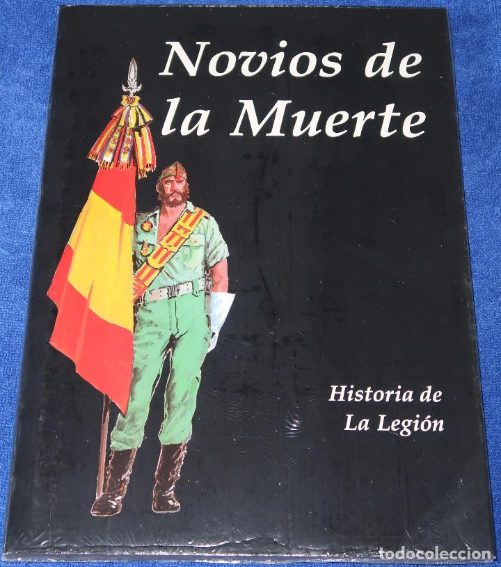 NOVIOS DE LA MUERTE - HISTORIA DE LA LEGIÓN - ANTONIO BORREL - STUDIO B ¡PRECINTADO! (Tebeos y Comics - Comics otras Editoriales Actuales)