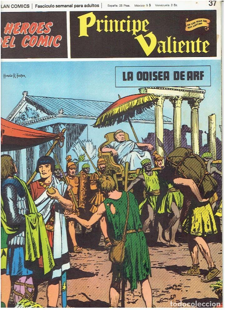 FASCÍCULOS SUELTOS DE LA COLECCIÓN, DEL 37 AL 42 (Tebeos y Comics - Buru-Lan - Principe Valiente)