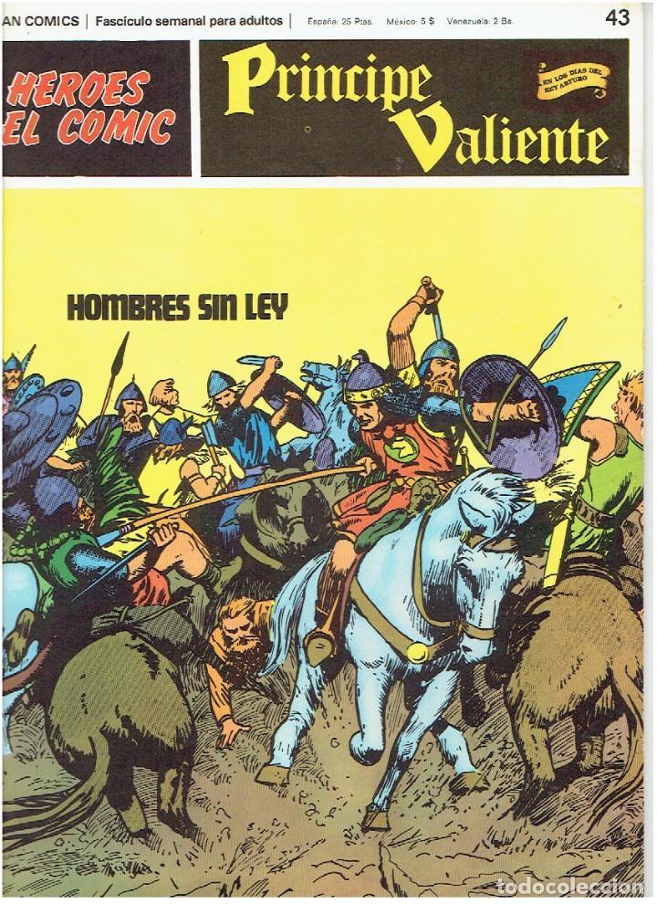 FASCÍCULOS SUELTOS DE LA COLECCIÓN, DEL 43 AL 48 (Tebeos y Comics - Buru-Lan - Principe Valiente)