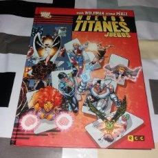 Cómics: COMIC/TEBEO. NUEVOS TITANES JUEGOS. ECC EDICIONES, 2012, MARV WOLFMAN Y GEORGE PÉREZ. TAPA DURA. Lote 120860851
