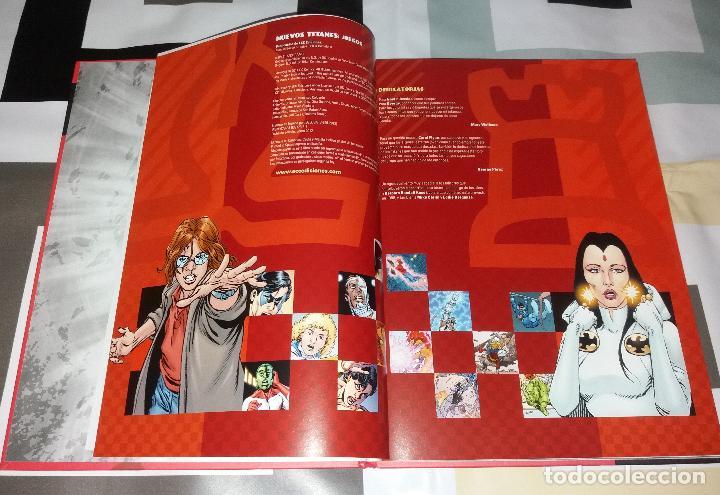 Cómics: Comic/Tebeo. Nuevos Titanes juegos. ECC ediciones, 2012, Marv Wolfman y George Pérez. Tapa dura - Foto 2 - 120860851