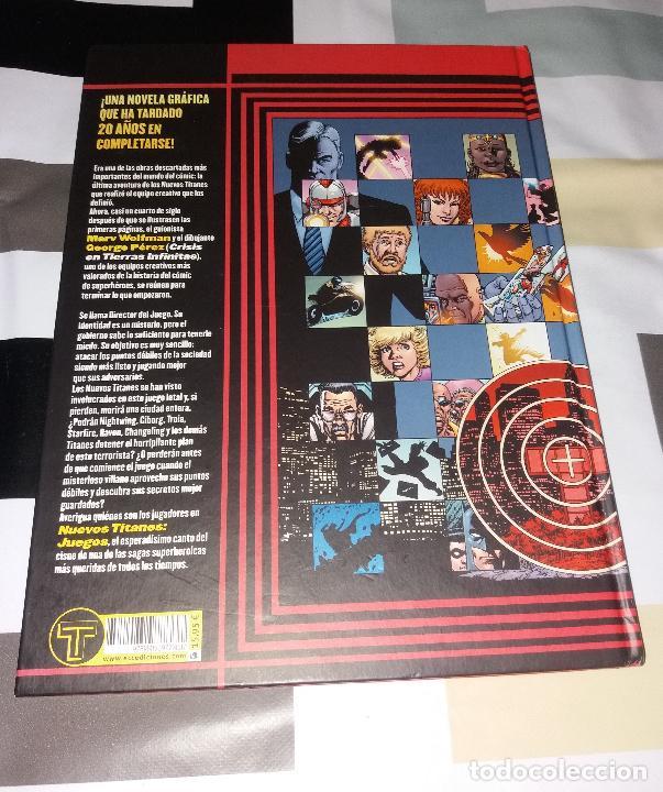 Cómics: Comic/Tebeo. Nuevos Titanes juegos. ECC ediciones, 2012, Marv Wolfman y George Pérez. Tapa dura - Foto 6 - 120860851