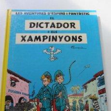 Cómics: ESPIRU I FANTASTIC Nº 6 - EL DICTADOR I ELS XAMPINYONS - FRANQUIN - CARTONE - CATALA GRIJALBO CS119. Lote 120913055