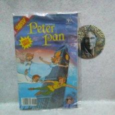 Cómics: COMIC Nº 7 PETER PAN CLASICOS DISNEY. EDITORIAL PRIMAVERA. AÑO 1990...BUEN ESTADO.. Lote 120980507