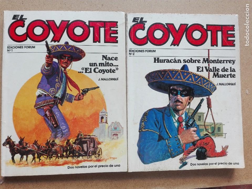 EL COYOTE NÚMERO 1 Y 2 EDICIONES FORUM (Tebeos y Comics - Comics Pequeños Lotes de Conjunto)