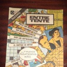Cómics: CUBA. ENTRETENTE. PASATIEMPOS.. Lote 121079479