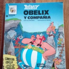 Cómics: ASTERIX: OBELIX Y COMPAÑIA. Lote 121130903