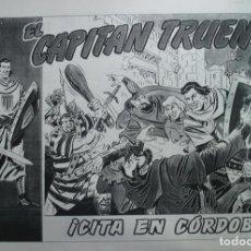 Cómics: LAMINAS DEL TEBEO EL CAPITAN TRUENO: CITA EN CORDOBA. Lote 121151815