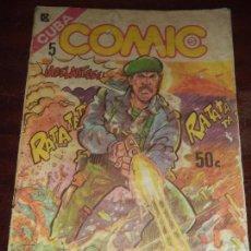 Cómics: CUBA. COMIC. CUBA. Nº 5. EDITORIAL PABLO DE LA TORRIENTE.. Lote 124302627