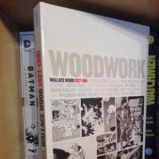Cómics: WOODWORK WALLY WOOD CATALOGO DE EXPOSICION EN CASAL SOLLERIC. Lote 121226955