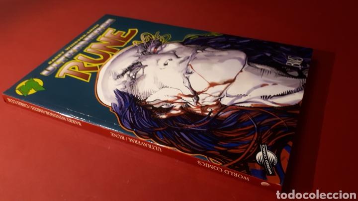 Cómics: ULTRAVERSE RUNE EXCELENTE ESTADO WORLD COMICS - Foto 2 - 121255471