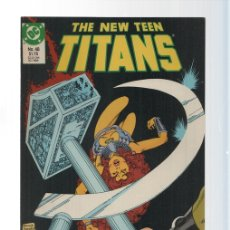 Cómics: DC COMICS: HOSTAGE - THE NEW TEEN TITANS 48 BY WOLFMAN. Lote 121294551