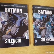 Cómics: DC COMICS COLECCIÓN NOVELAS GRÁFICAS - BATMAN SILENCIO PARTES 1 Y 2 - TAPA DURA , BUEN ESTADO. Lote 121344795