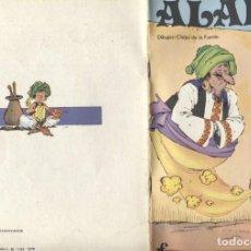 Cómics: ALADINO, CUENTO ILUSTRADO POR CHIQUI DE LA FUENTE. Lote 121473180