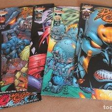 Cómics: BATTLE CHASERS 1 2 3 4 5 COMPLETA VOL 1 - ED. PLANETA AÑO 1999 - COMO NUEVOS. Lote 29332028