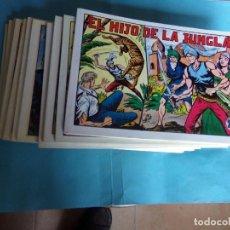 Cómics: EL HIJO DE LA JUNGLA COMPLETA 11 TOMOS,. Lote 121640751