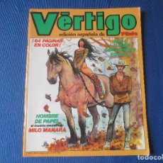 Cómics: VERTIGO Nº 2 - SOLO PARA ADULTOS - EDICION ESPAÑOLA DE PILOTE - MILO MANARA. Lote 121719799