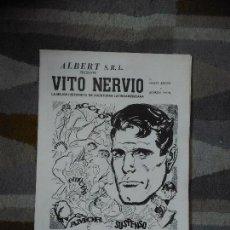 Cómics: VITO NERVIO PRESENTA LA MEJOR HISTORIETA DE AVENTURAS LATINOAMERICANA. ALBERT S.R.L. RARO. Lote 121727451
