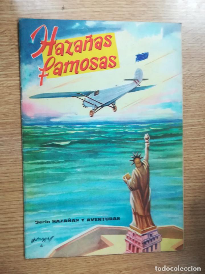HAZAÑAS FAMOSAS (SERIE HAZAÑAS Y AVENTURAS #4) (EDICIONES EVA) (Tebeos y Comics - Comics otras Editoriales Actuales)