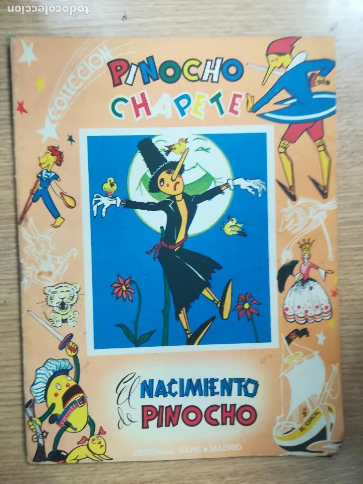 PINOCHO CHAPETE EL NACIMIENTO DE PINOCHO (EDITORIAL GAHE) (Tebeos y Comics - Comics otras Editoriales Actuales)