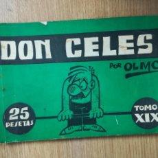 Cómics: DON CELES TOMO XIX (ISESA). Lote 121912451