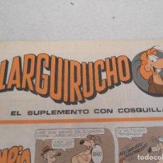 Cómics: TEBEO LARGUIRUCHO - EL SUPLEMENTO CON COSQUILLAS DEL 1 AL 16. Lote 122021075