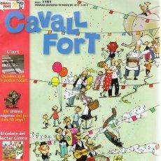 Cómics: CAVALL FORT Nº 1191 MARZO 2012 . Lote 122133923