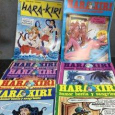 Cómics: HARA KIRI , HUMOR BESTIA - LOTE DE 39 EJEMPLARES - EDITA: EDITORIAL IRU. Lote 122139459