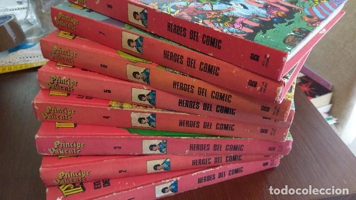 PRINCIPE VALIENTE. COLECCIÓN COMPLETA 8 TOMOS. BURU LAN 1972 (Tebeos y Comics - Buru-Lan - Principe Valiente)