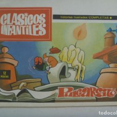 Cómics: CLASICOS INFANTILES : PULGARCITO . DE RAF . PUBLICACIONES PLAN, 1969. Lote 122295683