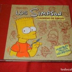 Cómics: LOS SIMPSON. CUADERNO DE DIBUJO - EDICIONES B 2008. Lote 122429591
