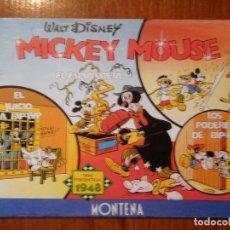 Cómics: COMIC NUMERADO WALT DISNEY MICKEY MOUSE MONTENA. Lote 122447303