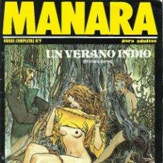 Cómics: MANARA OBRAS COMPLETAS NUMERO 9 DE NEW COMIC. Lote 122814983