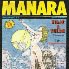 Cómics: MANARA OBRAS COMPLETAS NUMERO 20 DE NEW COMIC. Lote 122815171
