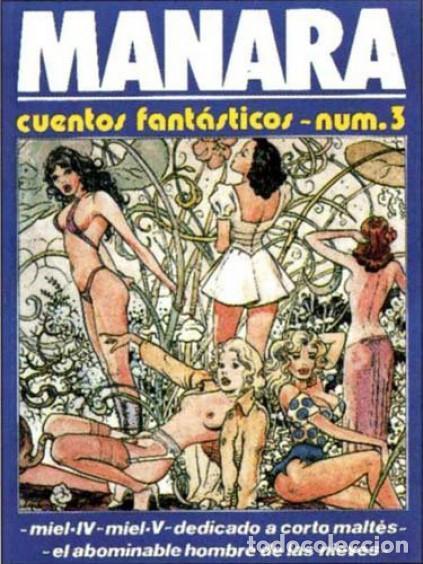 MILO MANARA, CUENTOS FANTASTICOS NUM.3 (TOTEM - COMICS) (Tebeos y Comics Pendientes de Clasificar)