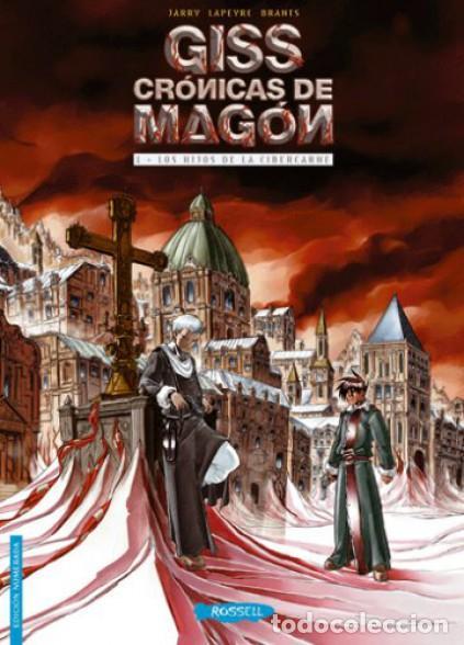 GISS CRONICAS DE MAGÓN 1 LOS HIJOS DE LA CIBERCARNE, JARRY LAPEYRE BRANTS (ROSELL) (Tebeos y Comics - Comics otras Editoriales Actuales)