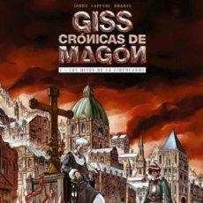 Cómics: GISS CRONICAS DE MAGÓN 1 LOS HIJOS DE LA CIBERCARNE, JARRY LAPEYRE BRANTS (ROSELL). Lote 122996175