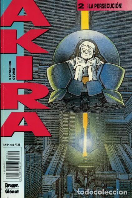 AKIRA 2, ¡LA PERSECUCIÓN! KATSUHIRO OTOMO (GLÉNAT) (Tebeos y Comics - Comics otras Editoriales Actuales)