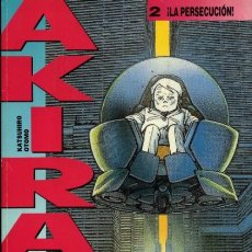 Cómics: AKIRA 2, ¡LA PERSECUCIÓN! KATSUHIRO OTOMO (GLÉNAT). Lote 122996979