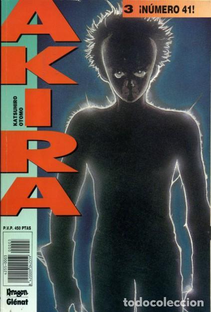 AKIRA 3, ¡NÚMERO 41! KATSUHIRO OTOMO (GLÉNAT) (Tebeos y Comics - Comics otras Editoriales Actuales)