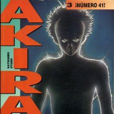 Cómics: AKIRA 3, ¡NÚMERO 41! KATSUHIRO OTOMO (GLÉNAT). Lote 122997043