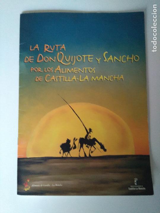LA RUTA DE DON QUIJOTE Y SANCHO POR LOS ALIMENTOS DE CASTILLA-LA MANCHA (Tebeos y Comics Pendientes de Clasificar)