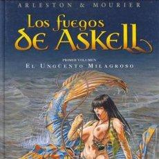 Cómics: LOS FUEGOS DE ASKELL, 1 EL ENGÜEMTO MILAGROSSO. ARLESTON & MOURIER (DERVIR). Lote 123058335