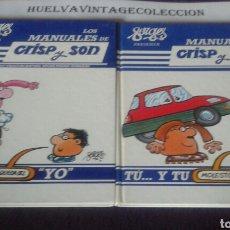 Cómics: FORGES PRESENTA, LOS MANUALES DE CRISP Y SON, N.2 Y N.5 ( 1985 ).. Lote 123068022