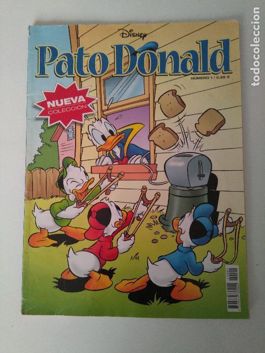 PATO DONALD NUEVA COLECCIÓN Nº 1 - RBA - 2002 (Tebeos y Comics Pendientes de Clasificar)