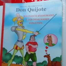 Cómics: DON QUIJOTE DE LA MANCHA.. Lote 123129383