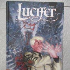 Cómics: LUCIFER LIBRO 1 ECC EDICIONES / VERTIGO TAPA DURA. Lote 123203855