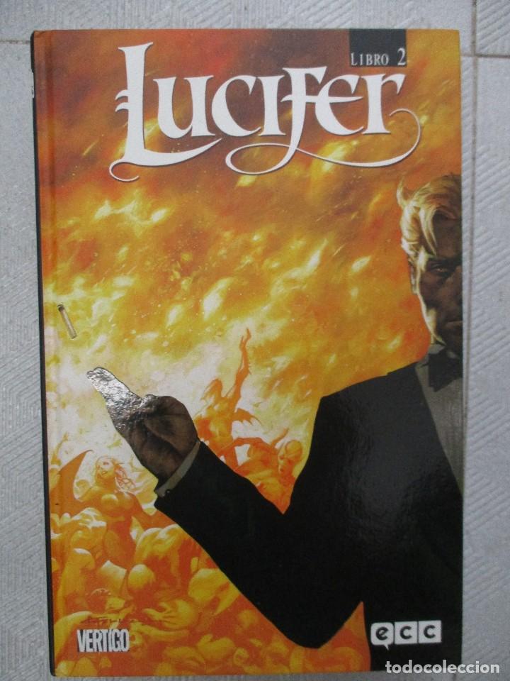 LUCIFER LIBRO 2 ECC EDICIONES / VERTIGO TAPA DURA (Tebeos y Comics - Comics otras Editoriales Actuales)